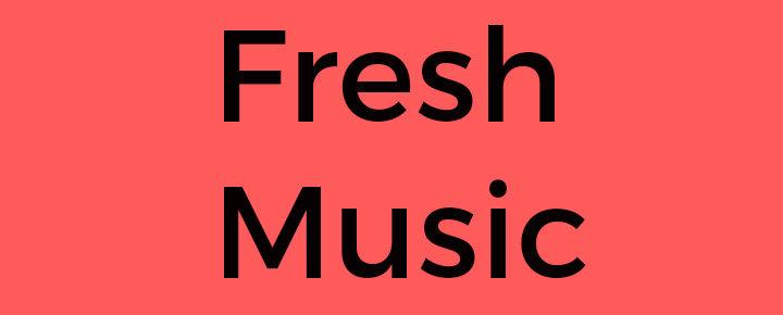 fresh music text bild